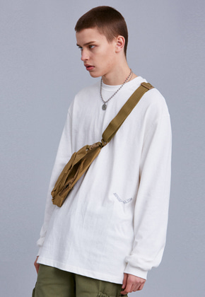Voiebit브아빗 V351 MINIMALISM LONG-SLEEVE  WHITE