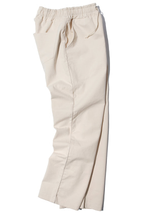 Kruchi크루치 Piping Easy Pants - (ivory)