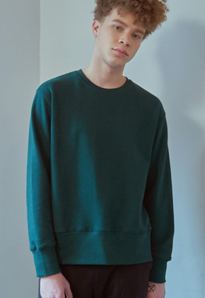 MMGL미니멀가먼츠랩 Regularfit sweatshirt (Dark-green)