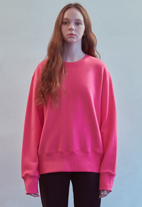 MMGL미니멀가먼츠랩 Regularfit sweatshirt (Pink)