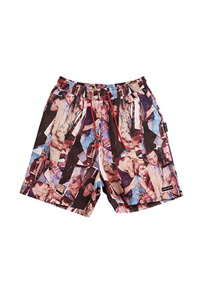 AJO BY AJO FINK LABEL XXX Shorts [Purple]