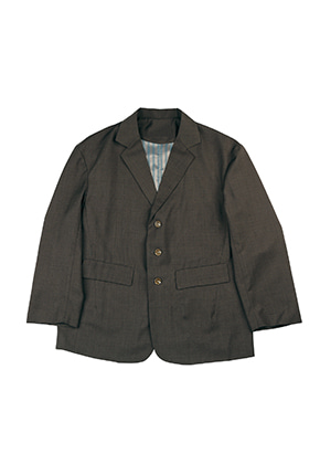 AJO BY AJO FINK LABEL Tailored Jacket [Brown]