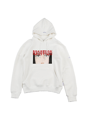 AJO BY AJO FINK LABEL Crying Manga Hoodie [White]