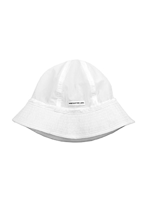 AJO BY AJO FINK LABEL Nylon Bucket Hat [White]