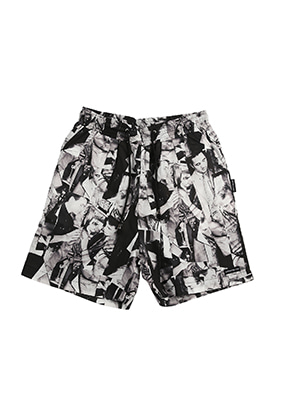 AJO BY AJO FINK LABEL XXX Shorts [Black]