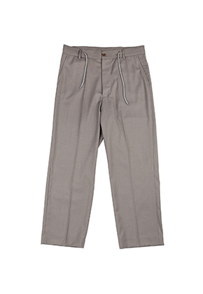 AJO BY AJO FINK LABEL Tailored Relaxed Pants [Grey]