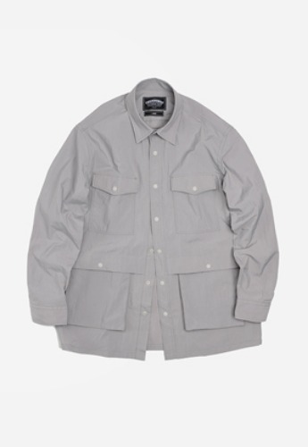 FRIZMWORKS프리즘웍스 Nylon shirt jacket _ gray