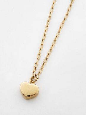 13Month써틴먼스 HEART CHAIN NECKLACE (GOLD)