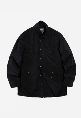 FRIZMWORKS프리즘웍스 Nylon shirt jacket _ black