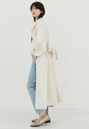 Raye Tog레이토그 RAGLAN SLEEVE OVERSIZED TRENCH COAT