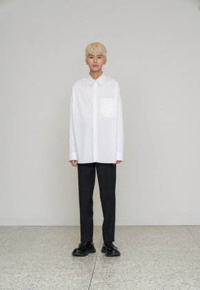 STU에스티유 Overfit shirt white
