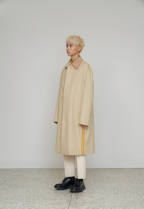 STU에스티유 Side line mac coat ivory