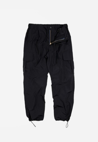 FRIZMWORKS프리즘웍스 Cargo string pants _ black