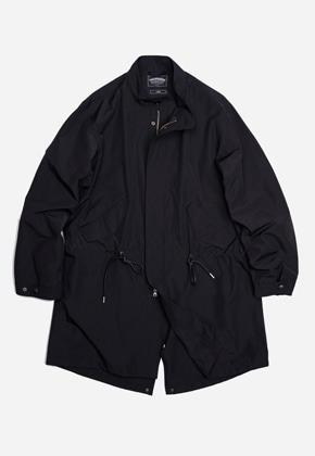FRIZMWORKS프리즘웍스 Harris fishtail jacket _ black