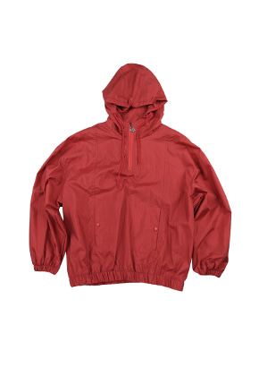 AJO BY AJO FINK LABEL Track Zip Up Anorak [Red]