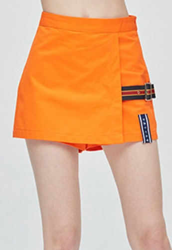 Romantic Crown로맨틱크라운 GNAC Skirt Short_Orange