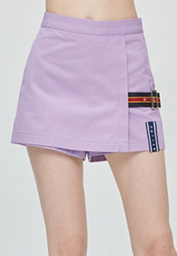 Romantic Crown로맨틱크라운 GNAC Skirt Short_Purple