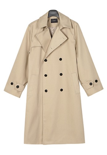 Flare up플레어업 [FLARE] over trench coat (FL-012) - Light Beige