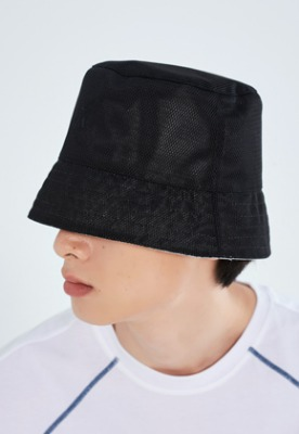LLUD러드 (LLUD x Afterpray) Bucket Hat Black