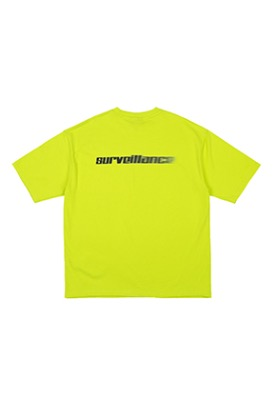 RDVZ SURVEILLANCE T-SHIRTS LIME