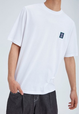 NOHANT노앙 LOVE CITY WAPPEN T SHIRT WHITE