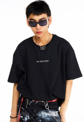 The Greatest더 그레이티스트 GT19SUMMER 05 LOGO T-Shirt BLACK