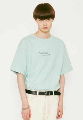 Voiebit브아빗 V366 CONTEMPORARY HALF-TEE  MINT