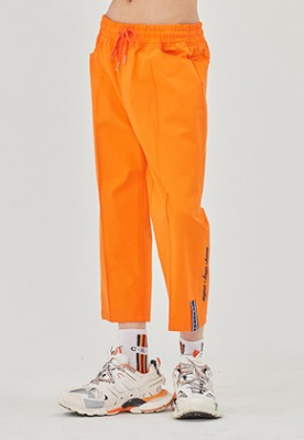 Romantic Crown로맨틱크라운 E.D.V Cotton Ankle Pants_Orange