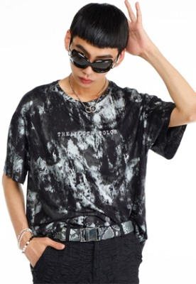 The Greatest더 그레이티스트 GT19SUMMER 07 Youth Color T-Shirt BLACK