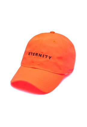Stigma스티그마 ETERNITY BASEBALL CAP ORANGE