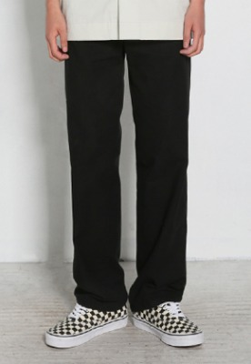 Voiebit브아빗 V278 BASIC LINEN BANDDING PANTS  BLACK