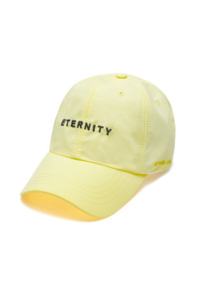 Stigma스티그마 ETERNITY BASEBALL CAP YELLOW