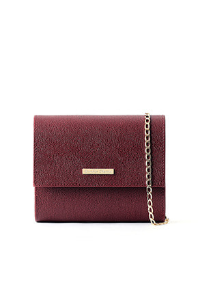 DONKIE돈키 marigold cross bag (wine) - D1014WN