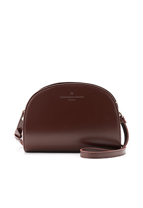 DONKIE돈키 hill cross bag (darkbrown) - D1015DB