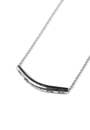 Voiebit브아빗 V825 ETHNIC TUNNEL NECKLACE  SLIVER