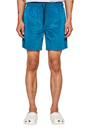 Lab101랩원오원 ICE BLUE WRINKLE NYLON SHORTS