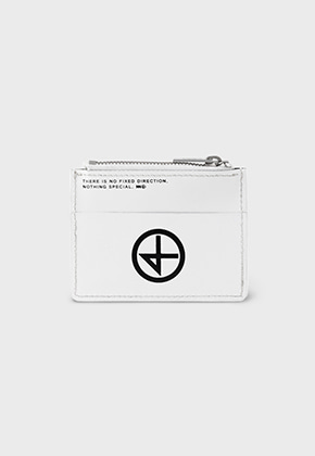 Nonenon논논 CACOIN WALLET_WHITE
