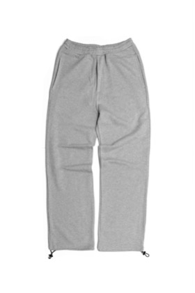 Runningnose러닝노즈 SWEAT EASY PANTS MELANGE GRAY