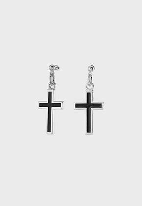 Nonenon논논 EPOXY CROSS EAR