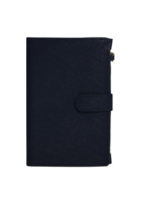 D.LAB디랩 DH88 (안티스키밍) Passport Wallet - Navy
