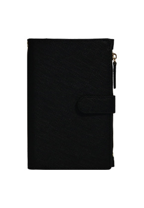 D.LAB디랩 DH88 (안티스키밍) Passport Wallet - Black