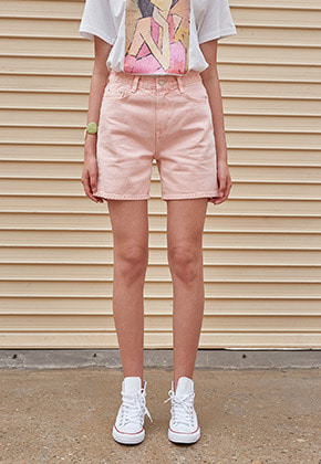 Yan13얀써틴 PALETTE COTTON SHORTS_PINK