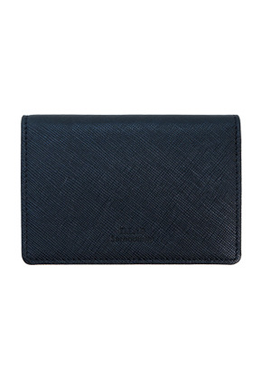 D.LAB디랩 Basic Leather Namecard wallet - Navy