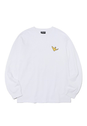 Markgonzales마크곤잘레스 M/G SMALL ANGEL LONG SLEEVE WHITE