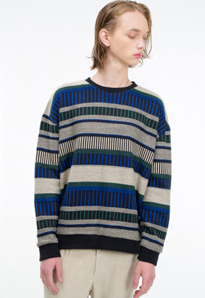 The Greatest더 그레이티스트 19FW05 BLUE KNIT