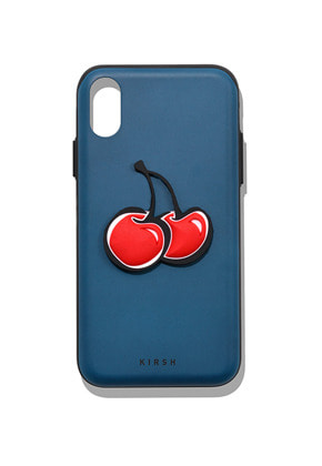 KIRSH키르시 BIG CHERRY BUMPER PHONE CASE IA [BLUE]