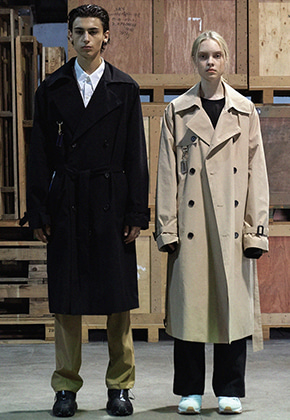Trip LE Sens트립르센스 [키링세트 ]OVER LONG TRENCH COAT BEIGE