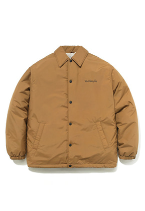 Markgonzales마크곤잘레스 M/G BOA COACH JACKET BROWN