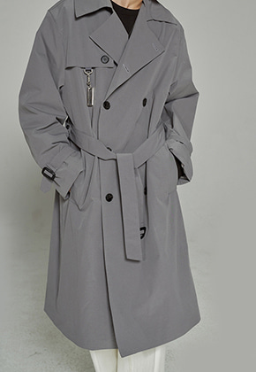 Trip LE Sens트립르센스 [키링세트 ]OVER LONG TRENCH COAT GREY