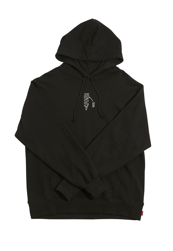 HEAVY Culture헤비컬쳐 CatCat Hood Black